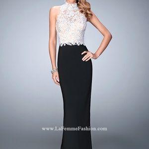 La Femme Prom Dress (style 21837) size 4